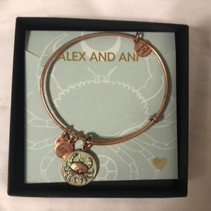 Alex and Ani Crab Color Infusion Bracelet